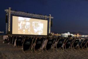 cinema de la plage